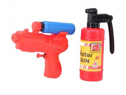 Pistol na vodu + hasicí přístroj