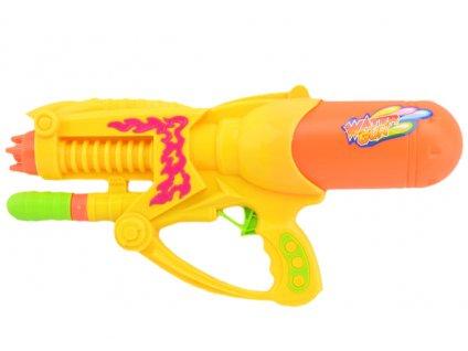 Pistol na vodu žlutá