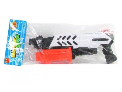 Pistol na vodu bílo-černá