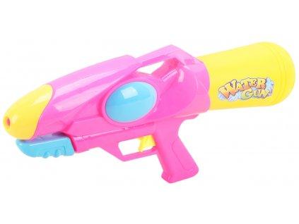 Pistol na vodu růžová