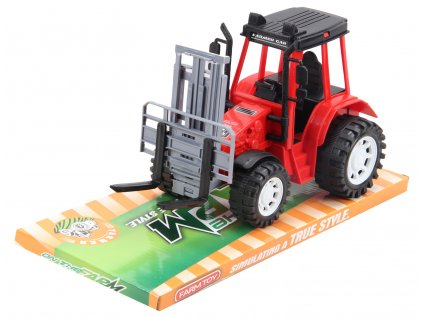 Traktor s předním nakladačem