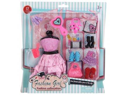 Oblečení pro panenky s doplňky