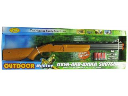 Dětská lovecká puška na baterie