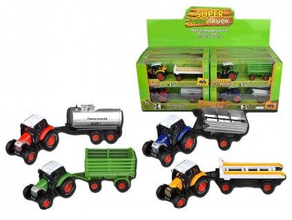 Traktor kovový mix příslušenství