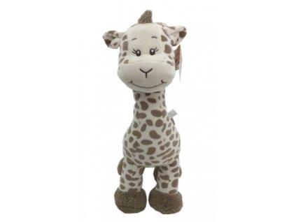 Plyšová žirafa - kolekce karamelové safari