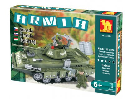 Stavebnice Tank