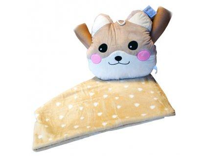 Sestava deka + polštář