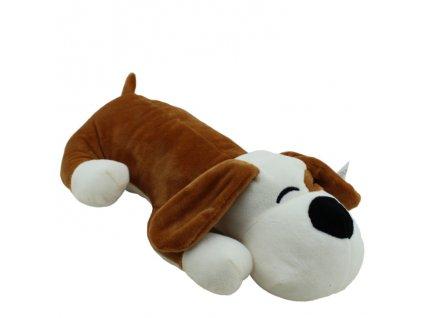 Plyšová hračka pes Bombel