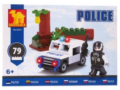Stavebnice Policejní auto