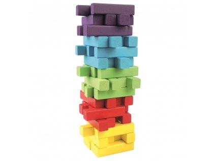 Dřevěná hra Věž JENGA 60ks