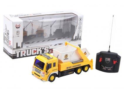 Nákladní auto na dálkové ovládání s kontejnerem
