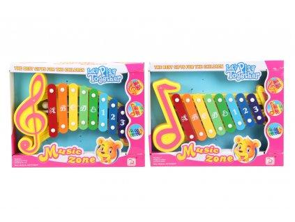 Dětský xylofon 2 druhy