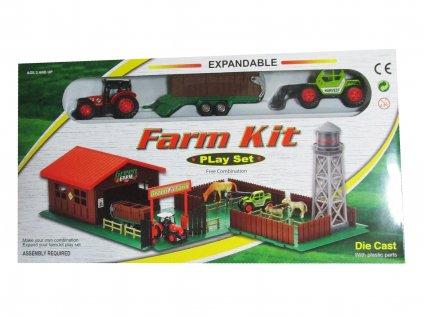 Farmářský dvorek