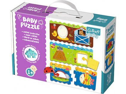 Baby puzzle Tvary classic