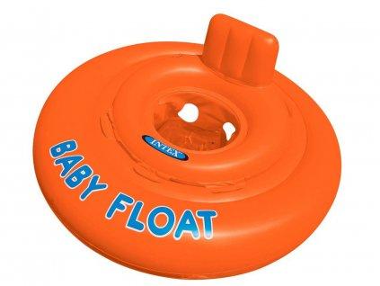 Dětské sedátko do vody oranžové