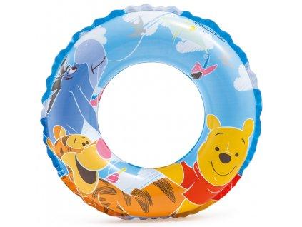 Nafukovací kruh medvídek Pú