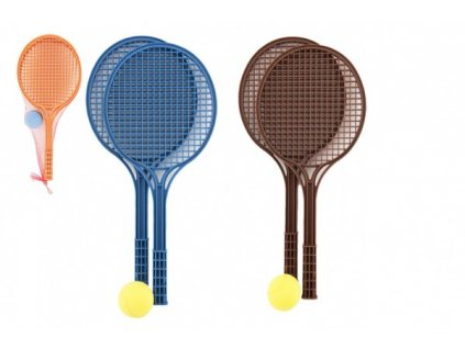 Soft tenis barevný+míček