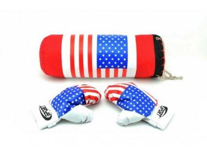 Boxovací pytel + rukavice