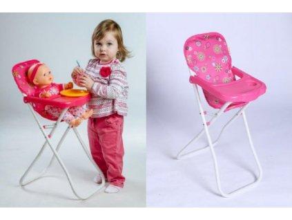 Židlička pro panenky vysoká