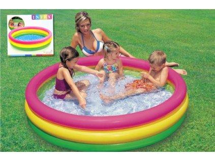 Dětský bazén s nafukovacím dnem