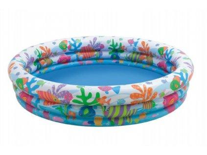 Dětský nafukovací bazén 3 komory