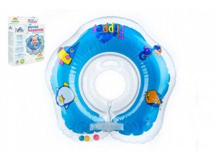 Plavací nákrčník Flipper/Kruh modrý