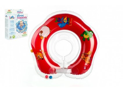 Plavací nákrčník Flipper/Kruh červený