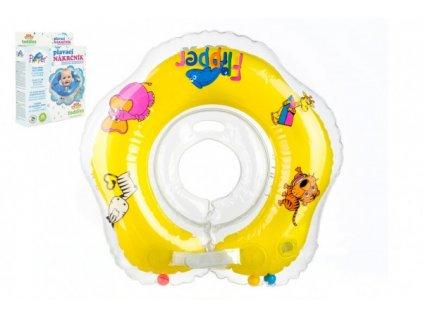 Plavací nákrčník Flipper/Kruh žlutý