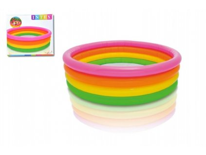 Dětský nafukovací barevný bazén 4 komory