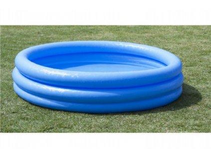 Dětský nafukovací bazén 3 komory modrý