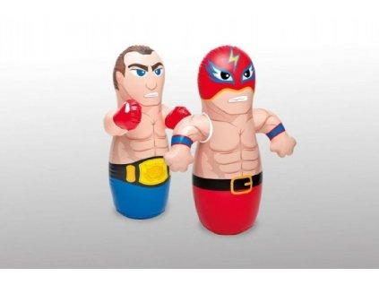 Boxovací figurka 2 druhy nafukovací