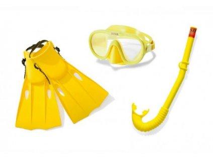Potápěčská sada brýle, šnorchl a ploutve