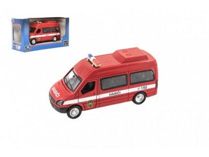 Auto hasiči na zpětné natažení na baterie se zvukem se světlem