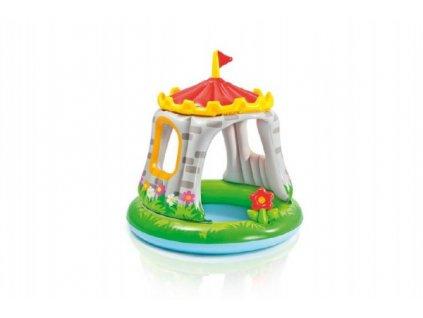 Dětský nafukovací bazén baby hrad