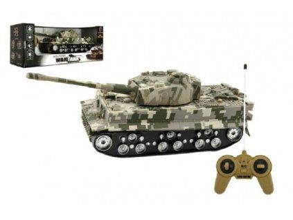 Tank RC TIGER I na baterie se zvukem se světlem