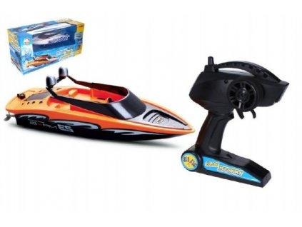 Motorový člun/loď do vody RC +dobíjecí pack+USB 2,4Ghz