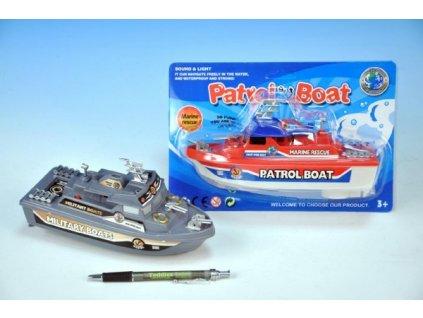 Loď/člun na baterie 2 druhy