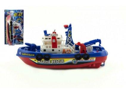 Loď/Člun na baterie stříkací vodu