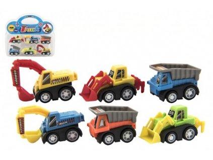 Auta mini stavební stroje