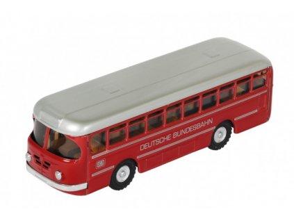 Autobus Deutsche Bundesbahn  červený