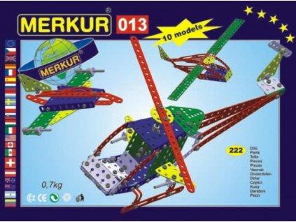 Stavebnice MERKUR 013 Vrtulník 10 modelů