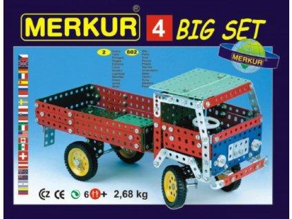 Stavebnice MERKUR 4 40 modelů 2 vrstvy