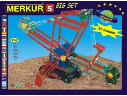 Stavebnice MERKUR 5 80 modelů