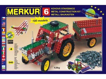 Stavebnice MERKUR 6 100 modelů 4 vrstvy