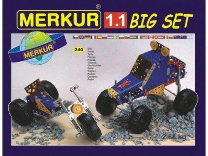 Stavebnice MERKUR 1.1 10 modelů