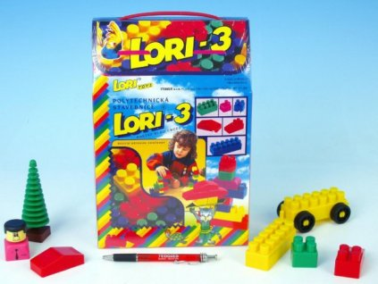 Stavebnice LORI 3 50ks