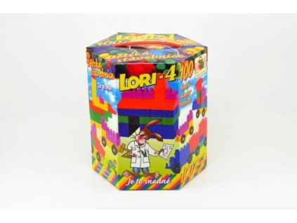 Stavebnice LORI 4 100ks