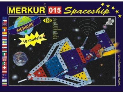 Stavebnice MERKUR 015 Raketoplán 10 modelů