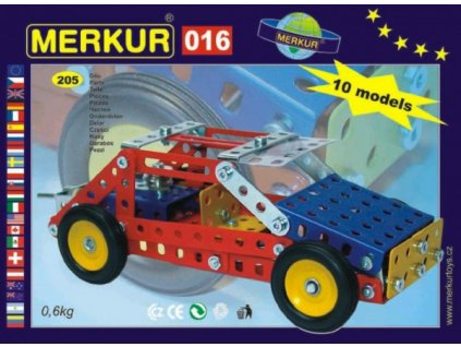 Stavebnice MERKUR 016 Buggy 10 modelů