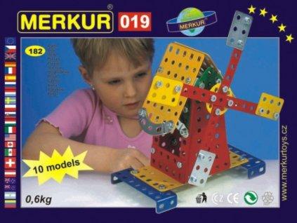 Stavebnice MERKUR 019 Mlýn 10 modelů